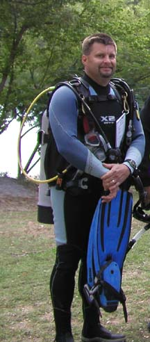 PADI IDC Staff Instructor - William Fidler