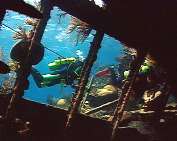 Wreck Diving - Wreck Penetration
