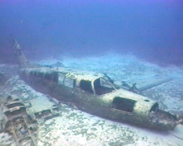 Wreck Diving - Plane